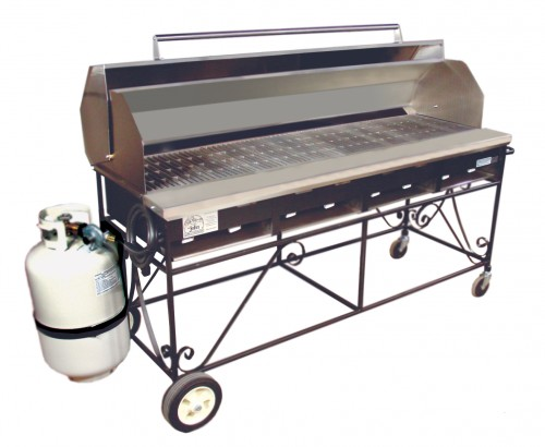 Propane Grill 56 X 23 X 31 High Sterling Party Rentals