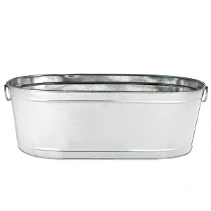Ice Tub Galvanized Sterling Party Rentals