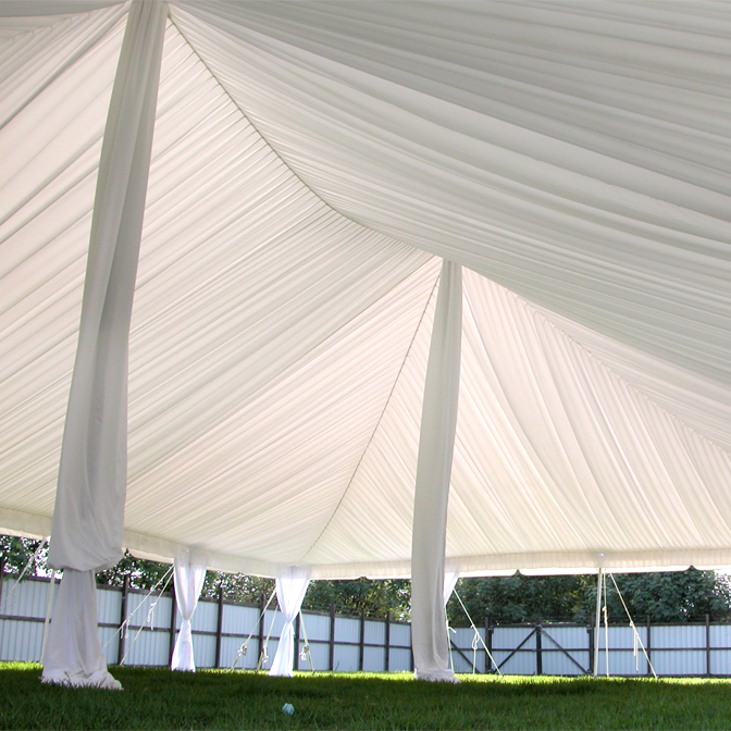 Center Pole Covers Sterling Party Rentals
